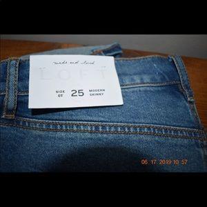 The LOFT jeans